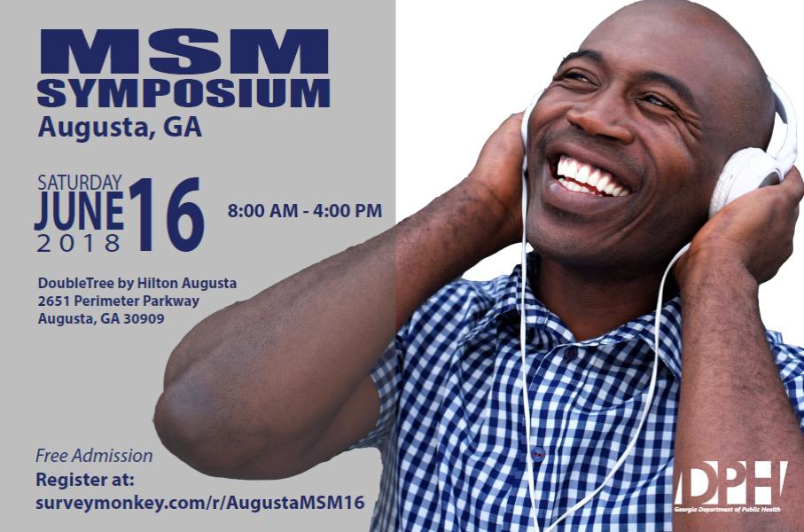 3rd Rural Msm Symposium June 16 2018 In Augusta Georgia East
